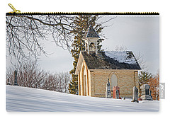 Union Cemetery Chapel Carry-all Pouch by Susan  McMenamin