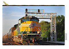 Union Pacific Chicago And North Western Heritage Unit Carry-all Pouch
