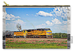 Union Pacific Railroad 2 Carry-all Pouch by Walter Herrit