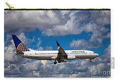 United Airlines Boeing 737 Ng Carry-all Pouch