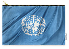 United Nations Carry-all Pouch by Les Cunliffe
