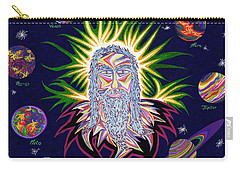 United Planets Of Jesus Christ Carry-all Pouch by Robert SORENSEN