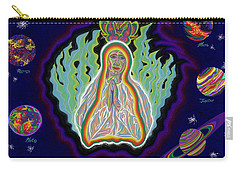 United Planets Of The Queen Of Heaven Carry-all Pouch by Robert SORENSEN