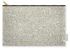 United States Bill Of Rights Carry-all Pouch