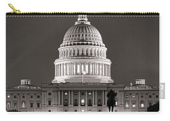 United States Capitol At Night Carry-all Pouch