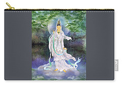 Carry-all Pouch featuring the photograph Universal Kuan Yin by Lanjee Chee