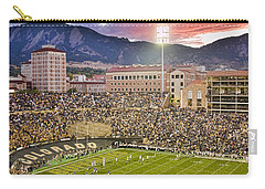 University Of Colorado Boulder Go Buffs Carry-all Pouch by James BO  Insogna