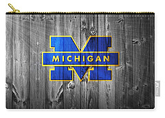University Of Michigan Carry-all Pouch by Dan Sproul