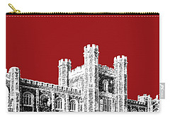 University Of Oklahoma - Dark Red Carry-all Pouch