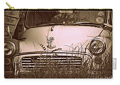 Carry-all Pouch featuring the photograph Unloved by Clare Bevan