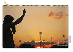 Cemetery Sunset Carry-all Pouch