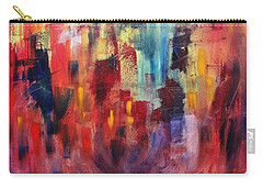 Carry-all Pouch featuring the painting Untitled #4 by Jason Williamson