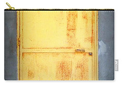 Carry-all Pouch featuring the photograph Unused Door by Clare Bevan
