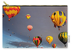Carry-all Pouch featuring the photograph Up And Away by Dave Files