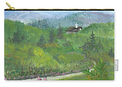 Up In The Mountains Carry-all Pouch