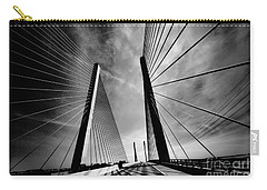 Carry-all Pouch featuring the photograph Up N Over by Robert McCubbin