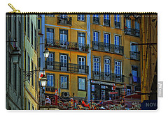 Up The Stairs - Lisbon Carry-all Pouch by Mary Machare