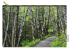 Carry-all Pouch featuring the photograph Up The Trail by Cathy Mahnke