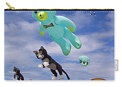 Carry-all Pouch featuring the photograph Up Up And Away by E Faithe Lester