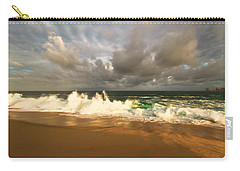 Carry-all Pouch featuring the photograph Upcoming Tropical Storm by Eti Reid