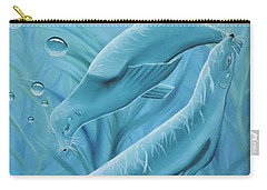 Carry-all Pouch featuring the painting Uphoria by Dianna Lewis