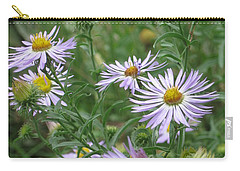 Uplifted Asters Carry-all Pouch
