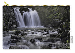 Upper Crystal Creek Falls  Carry-all Pouch