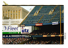 Upper Deck  The Yankee Stadium Carry-all Pouch by Iconic Images Art Gallery David Pucciarelli