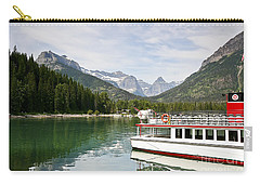 Upper Waterton Lakes Carry-all Pouch by Teresa Zieba