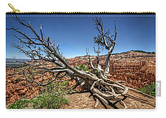 Carry-all Pouch featuring the photograph Uprooted - Bryce Canyon by Tammy Wetzel