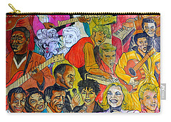 Carry-all Pouch featuring the photograph Urban Art New York City 3 by Dora Sofia Caputo Photographic Art and Design