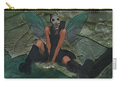 Carry-all Pouch featuring the digital art Urban Fairy by Galen Valle