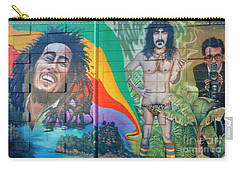 Carry-all Pouch featuring the photograph Urban Graffiti 1 by Janice Westerberg