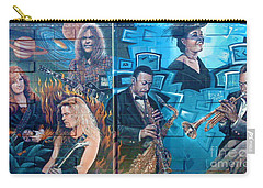Carry-all Pouch featuring the photograph Urban Graffiti 2 by Janice Westerberg