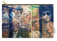 Carry-all Pouch featuring the photograph Urban Graffiti 3 by Janice Westerberg