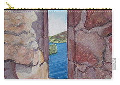 Archers' Window Urquhart Ruins Loch Ness Carry-all Pouch