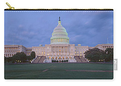 Us Capitol Building At Dusk, Washington Carry-all Pouch by Panoramic Images