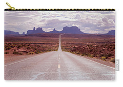 Us Highway 163 Carry-all Pouch