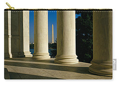 Usa, District Of Columbia, Jefferson Carry-all Pouch by Panoramic Images