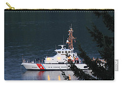 Uscgc Blue Shark Carry-all Pouch by E Faithe Lester