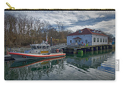 Usgs Castle Hill Station Carry-all Pouch by Joan Carroll