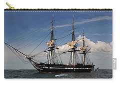 Uss Constitution - Featured In Comfortable Art Group Carry-all Pouch