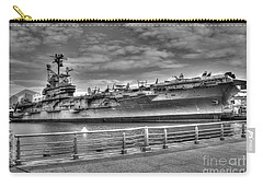 Uss Intrepid Carry-all Pouch by Anthony Sacco