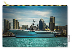 Uss Midway Museum Cv 41 Aircraft Carrier Carry-all Pouch