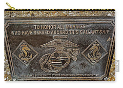 Carry-all Pouch featuring the photograph U.s.s. San Francisco Memorial Land's End by Bill Owen