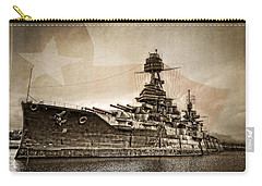 U.s.s. Texas Carry-all Pouch