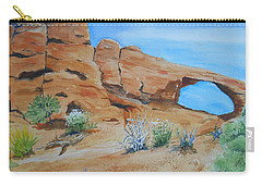 Utah - Arches National Park Carry-all Pouch
