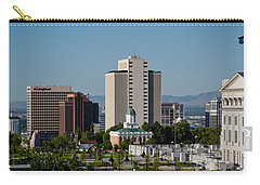 Utah State Capitol Building, Salt Lake Carry-all Pouch by Panoramic Images