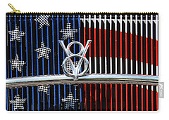 Carry-all Pouch featuring the photograph V8 Freedom by Jani Freimann