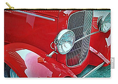 Carry-all Pouch featuring the photograph V8 by Victor Montgomery